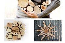 mit Holz