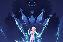 Ice Queen Illustrations
