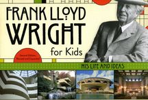 """Frank Lloyd Wright for Kids / """"What makes Frank Lloyd Wright for Kids: His Life and Ideas by Kathleen Thorne-Thomsen quite smart is its simple trust of kids. It's a fairly complete portrait of a deeply complex and important man. . . . The book features lovely photographs by Paul Rocheleau and excellent descriptions of Wright's main works, including the Robie House, Fallingwater and the Guggenheim Museum."""" —Mary Louise Schumacher, JSOnline, 6/14"""