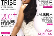 Ethio Beauty Magazine Covers / Showcasing each issues covers.
