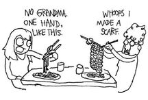 knitting funny