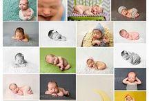 poses para fotos de bebês
