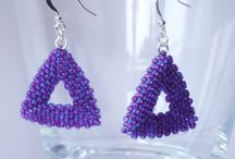 Triangles and Pyramides Earrings - MEX JEWELLERY / My work