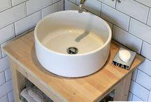meubles d'angle salles de bain