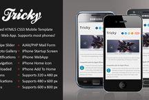 Web Templates for Mobile websites