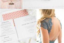wedding // color palettes