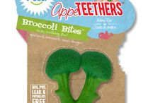 LittleToader Appeteethers Singapore / AppeTEETHERS are patented, silicone teething toys free of BPA, Phthalate, PVC and lead. They provide the perfect amount of resistance to sooth baby's sore gums. Get yours from www.binkyboppy.com.