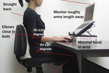 Desk ergonomy