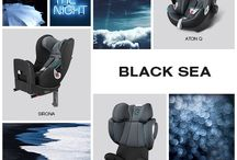 "New Colours 2015: ""Black Sea"" / This is our new car seat colour ""Black Sea"". Get inspired!  Find all the new colours here: http://bit.ly/CYBEX_carseats_Pinterest / by CYBEX"