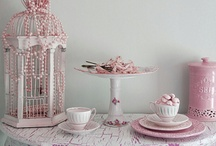 """Shabby Pink"" Christening / Baptism Ideas / Such lovely, romantic, pretty ideas for a little girls christening / baptism....."
