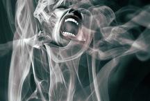 women closed#fury#panic#crazy#kill feeling#pain#dark art