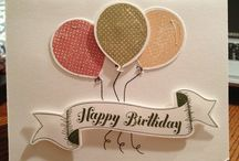 balloons and birthday! / by Paper Alley
