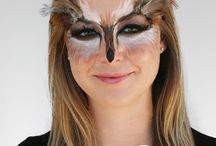 Owl Makeup