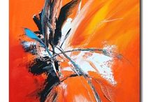 Art: abstract paintings