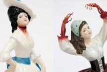 Ceramic admiration / I don't just make ceramics; I love ceramics. Here are some I find beautiful and inspirational.  / by HaldeCraft
