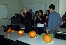 Pumpkin Carving Competition / Let's celebrate Halloween!