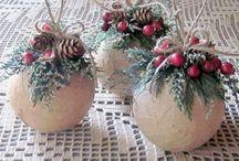 Christmas Ornaments and decor