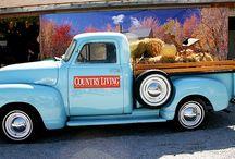 OLD FARM TRUCKS / by Lori Triplett