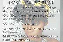 Healthy hair tips to hrow hair / healthy hair tips