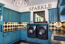 Laundry Rooms / Ideas for my future house. / by Nichole Diluzio