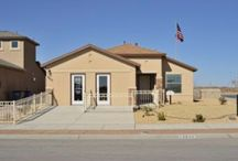 Catherine Floor Plan / 1210 sqft, 3 bedrooms, 2 bathrooms, 1 level available in TDE 67  www.desertviewhomes.com