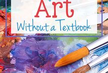 Teaching Homeschool Art