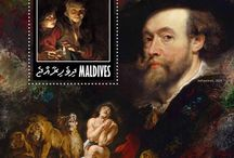 New stamps issue released by STAMPERIJA | No. 418 / MALDIVES 03 07 2014 - Code: MLD14601a-MLD14610b  New issue of the best Flemish painters of XV-XVII centuries  We are glad to present a special stamps issue of Maldives that honors the great Flemish masters of painting in XV – XVII centuries.