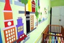 Malowane pokoje dziecięce