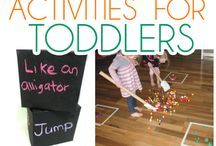 Gross motor activities for preschoolers / Gross motor activities for preschoolers