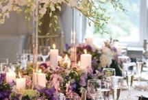 テーブルとお花