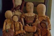 Prim Dolls / by Linda Lutes
