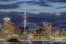 Auckland City Lanscapes