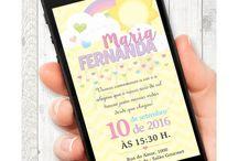 Festa Arco Íris / Papelaria Digital para Festas Criativas. Compre no nosso site www.shopfesta.com.br