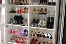 Uncluttered Closets / Your shoes and jewelry deserve to have beautiful homes of their own.