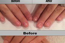 Hair nails growth