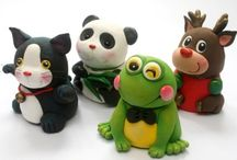 Polymer Clay Characters / characters created out of polymer clay / by Lisa Delgadillo-Munford