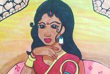 """KETTY ART """"INDIANINE LOVE <3 """" / India la mia fonte di ispirazione artistica"""