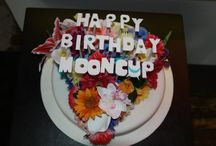 Cakes & Recipes / Here at Mooncup HQ we have a tradition of baking each other's birthday cakes. Feast your eyes upon the many treats we have enjoyed over the years and some we aspire to create.