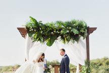 Tropical Wedding / Tropical beach wedding ideas including tropical invitations, tropical wedding colors, tropical wedding ideas, tropical wedding dress and tropical wedding decorations