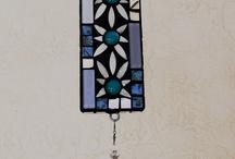 Mosaic wind chimes