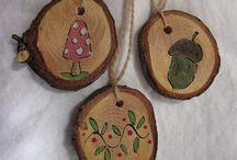 Ornamenti legno