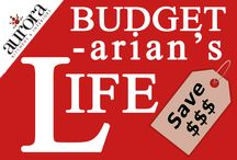 Budget-arian's Life / All about saving, budgeting, and thrifty ideas for a cheap and frugal living