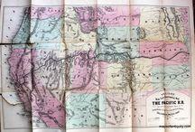 West Coast American Maps