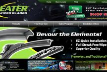 RainEater Wiper Blades Promotional Materials / We think we rock; so should you!