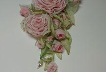 Applicazioni di fiori di nastro