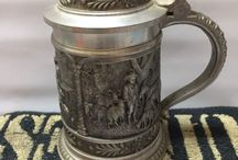 Stein Beer,west germany Tankards,anything pub bar related / Stein Beer,west germany Tankards,Breweriana,Double Diamond,Stella,