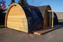 Mega Camping Pods - Glamping Pods 7.2 m x 4.0m / The Largest Glamping-Camping Pod in the Industry.  Only Available from Log Cabins LV. 28.8 square meters, the tallest, largest camping , glamping pod in the market - UK.
