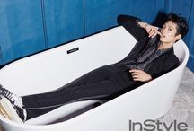 A man in the tub
