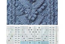 wzory knitting charts