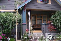 Craftsman houses and exteriors